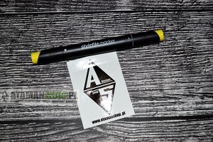 MARKER Stylefile Twin Allround 12 Main Set B marker Sunflower 168 yellow żółty