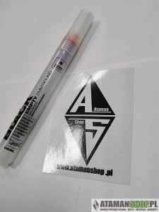 Pusty marker 06ml 2mm Black empty marker atamanshop