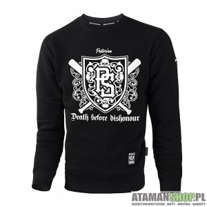 Bluza uliczna bez kaptura Death Before Dishonour
